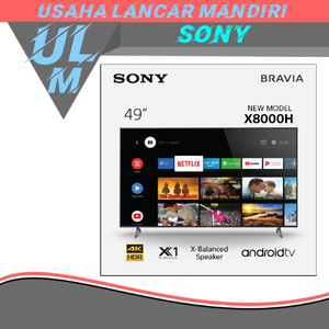 Harga sony android tv 4k kd 49x8000h   khusus | HARGALOKA.COM