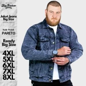 Harga jaket jeans ukuran jumbo big size 8xl 7xl 6xl 5xl | HARGALOKA.COM