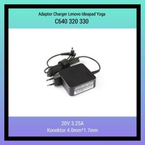 Harga adaptor charger lenovo ideapad yoga c640 320 330 20v 3 25a | HARGALOKA.COM