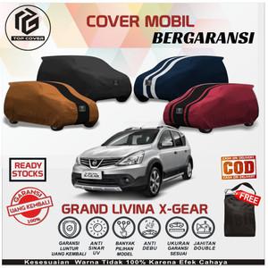 Harga body cover mobil grand livina x gear sarung selimut mantel nissan   polos kode 1 foto     HARGALOKA.COM