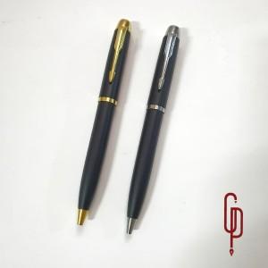 Harga pulpen metal model parker m black bisa cetak logo atau nama tw 250   klip | HARGALOKA.COM
