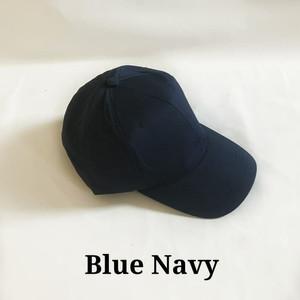 Harga topi baseball unisex pria dan wanita warna biru navy polos murah   | HARGALOKA.COM