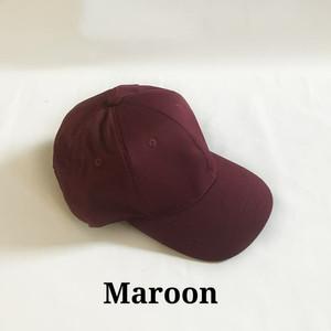 Harga topi baseball unisex pria wanita warna merah maroon polos murah   | HARGALOKA.COM