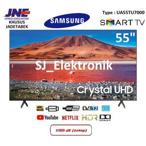 Harga led tv samsung 55 inch ua55tu7000   55tu7000 crystal uhd 4k | HARGALOKA.COM
