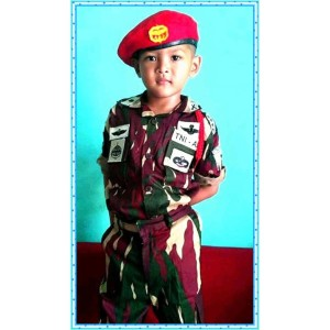 Harga baju loreng tentara kopassus kostum pasukan khusus baret merah tni ad   | HARGALOKA.COM