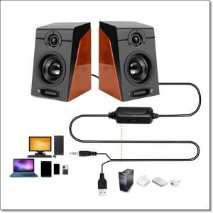 Harga first eye 950 hifi desktop multimedia stereo speaker 2 0 channel | HARGALOKA.COM
