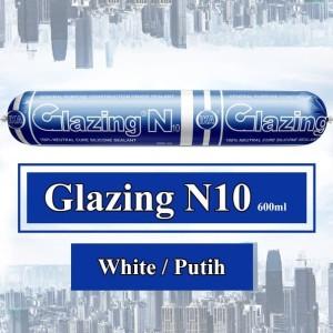 Harga silicone sealant lem kaca ika glazing n10 silikon silen netral sosis   | HARGALOKA.COM
