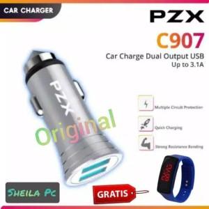 Harga car charger mobil amp motor 3 1a dual   HARGALOKA.COM