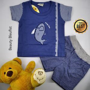 Harga baju bayi laki laki 0   3 bulan new born baby murah premium shark   | HARGALOKA.COM