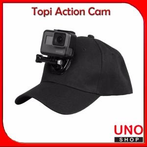 Harga topi action cam   baseball hat cap for gopro sjcam xiaomi yi | HARGALOKA.COM