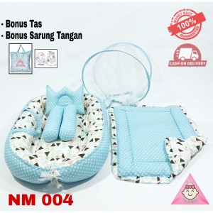 Harga kasur bayi berkelambu lipat model boat tempat tidur bayi set   HARGALOKA.COM