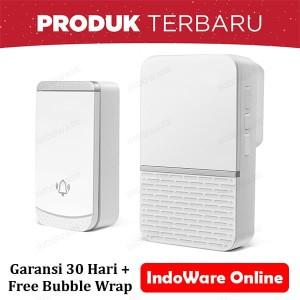 Harga bel rumah wireless door bell waterproof pintu 1 | HARGALOKA.COM