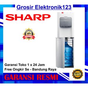 Harga dispenser sharp galon bawah swd72 ehl wh khusus bandung | HARGALOKA.COM