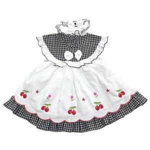Harga baju dress bayi perempuan katun 6 8 bulan motif gambar berry   | HARGALOKA.COM