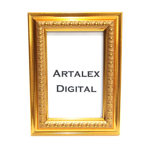 Harga bingkai foto frame photo 4r   emas   terbuat dari kayu amp kaca   | HARGALOKA.COM