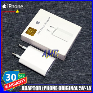 Harga kepala charger iphone 4 4s 4g 4c 3gs ipad 1 2 3 ipod original 100 | HARGALOKA.COM