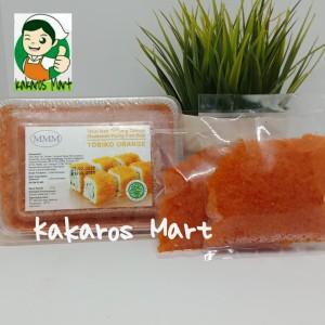 Harga tobiko orange 100 gr halal mui kirim khusus gojek dan grab | HARGALOKA.COM