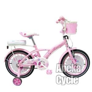 Harga sepeda sepeda anak roda empat perempuan cewek family daisy | HARGALOKA.COM