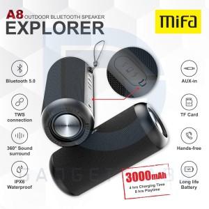 Harga mifa a8 tws bluetooth speaker 30w stereo sound ipx7 | HARGALOKA.COM
