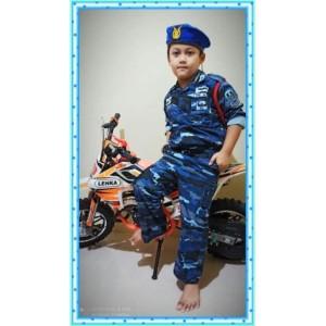 Harga loreng tni angkatan udara baju tentara loreng au anak   | HARGALOKA.COM