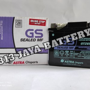 Harga aki motor gs astra gtz6v vario 150 aerox n max | HARGALOKA.COM