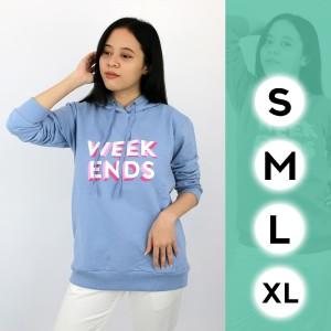 Harga jaket sweater hoodie tangan lengan panjang wanita status st14401   peach | HARGALOKA.COM