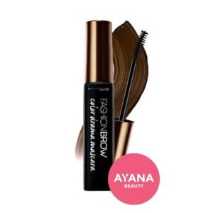 Harga maybelline fashion brow color drama mascara   deep | HARGALOKA.COM