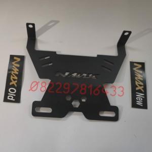 Harga bracket breket dudukan plat nomor depan nmax lama old amp nmax baru new   nmax | HARGALOKA.COM