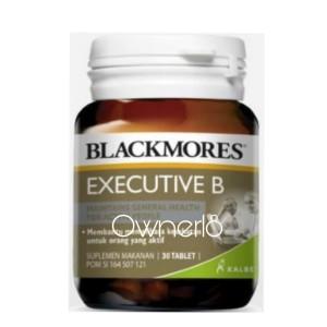 Harga blackmores executive b stress formula bpom kalbe 30 tablet atasi | HARGALOKA.COM