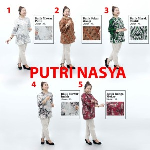 Harga atasan wanita batik blouse size jumbo bigsize seragam batik model   s no | HARGALOKA.COM