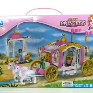 Harga lego anak perempuan chaobao princess lego istana bunga kereta istana   | HARGALOKA.COM