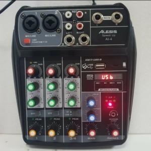 Harga alessis mixer speed up ai 4 channel usb | HARGALOKA.COM