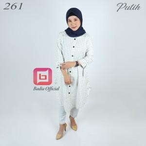Harga tunik salur wanita muslimah hijabers syari premium   | HARGALOKA.COM