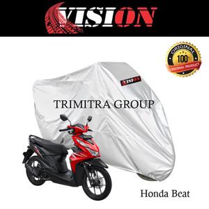 Harga sarung motor matic cover penutup tutup motor beat silver vision   | HARGALOKA.COM