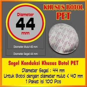 Harga segel konduksi aluminium foil botol plastik pet sambal makanan | HARGALOKA.COM
