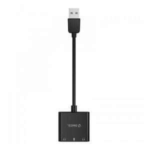 Harga orico usb soundcard external cable sound card mic audio | HARGALOKA.COM