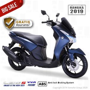 Harga vin 2019 yamaha lexi s abs otr bandung cirebon sepeda motor   | HARGALOKA.COM