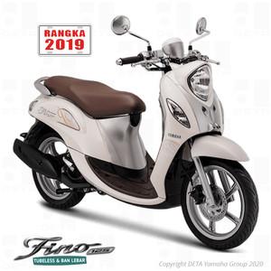 Harga vin 2019 yamaha fino 125 otr jabodetabek sepeda motor   | HARGALOKA.COM
