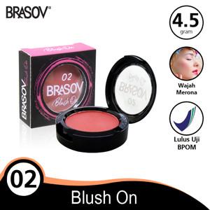 Harga brasov blush on shade 02 pigmented perona pipi bpom | HARGALOKA.COM