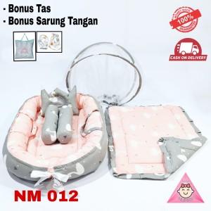 Harga kasur bayi lipat kelambu model perahu tempat tidur bayi motif   HARGALOKA.COM