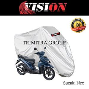 Harga sarung motor matic cover penutup tutup motor nex silver vision   | HARGALOKA.COM