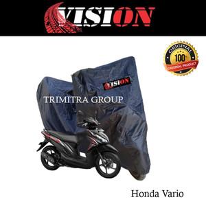 Harga sarung motor matic cover penutup tutup motor vario hitam vision   | HARGALOKA.COM