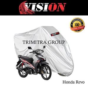 Harga sarung motor matic cover penutup tutup motor revo silver vision   | HARGALOKA.COM