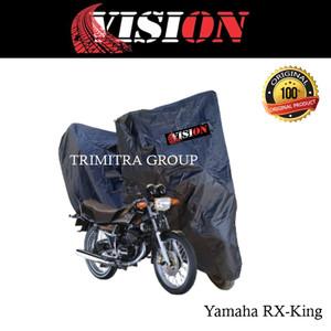 Harga sarung motor matic cover penutup tutup motor rx king hitam vision   | HARGALOKA.COM