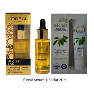 Harga l 39 oreal loreal miraculous oil mucizevi ya face oil serum seclat | HARGALOKA.COM