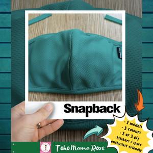 Harga masker kain snapback ori   dri fit premium  non medis  beli 6 gratis | HARGALOKA.COM