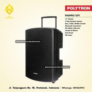 Harga polytron speaker aktif built in battery   paspro 12f1 | HARGALOKA.COM