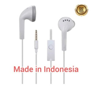 Harga handsfree headset earphone samsung j1 original made in indonesia | HARGALOKA.COM
