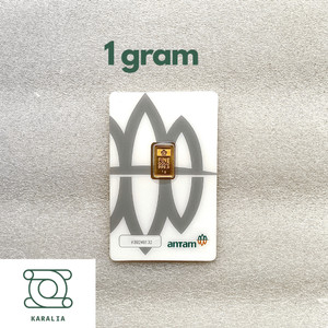 Harga emas antam 1 gram logam mulia lm antam certicard reinvented | HARGALOKA.COM