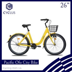 Harga sepeda urban bike pacific ofo city bike 26 inch   kurir   HARGALOKA.COM